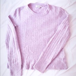 MADEWELL WOMEN'S PINK CASHMERE SWEATER XS